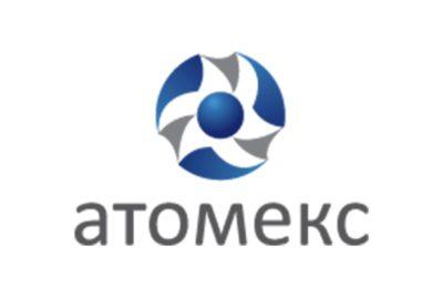 Логотип Атомэкс