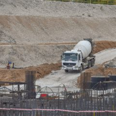 Заливка первого бетона на площадке строительства МБИР