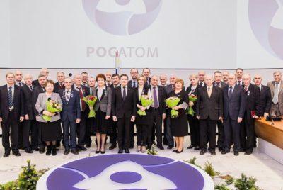 февраля в Госкорпорации «Росатом» прошло награждение государственными наградами Российской Федерации и ведомственными знаками отличия.