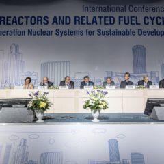 Пленарное заседание на Международной конференции по реакторам на быстрых нейтронах и соответствующим топливным циклам (FR-17)