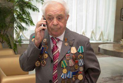 В ГНЦ НИИАР прошли праздничные мероприятия по случаю 80-летия главного научного сотрудника Е.П. Клочкова