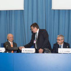 Международная конференция Росатома и МАГАТЭ по управлению ядерными знаниями Першуков