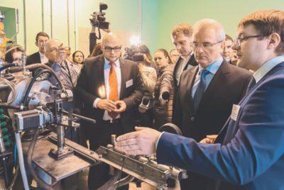 В Заречном открылось первое в России промышленное производство фуллеренов