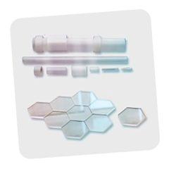 Профилированные кристаллы лейкосапфира в виде труб, пластин, стержней