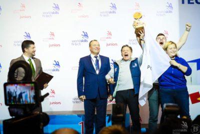 Сборная Росатома третий год подряд стала победителем медального зачета чемпионата WorldSkills Hi-Tech